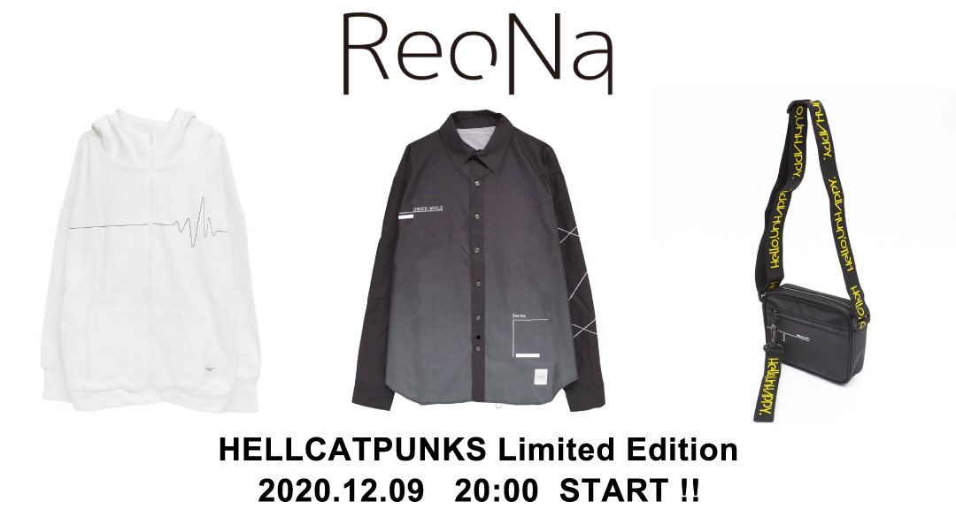 "ReoNa Live Tour 2019""Colorless"" グッズ限定発売"
